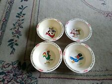 Vintage 1995 Kellogg's Cereal Bowls Tony The Tiger