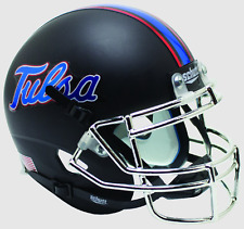 TULSA GOLDEN HURRICANE NCAA Schutt XP Authentic MINI Football Helmet