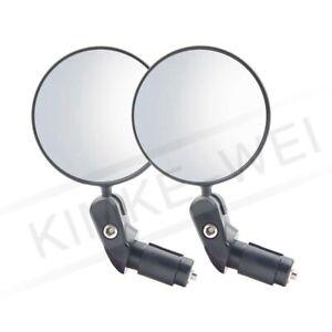 1 Pair 360° Adjustable Bicycle Rear View Mirror MTB Bike Back Mirror Reflector