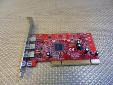 Adaptec AFW-4300B REV:1.1 PCI Firewire IEEE-1394 3-port Card Adapter 1394S32