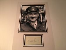 Kenneth Connor Carry On Signed Album Page Mounted For Framing