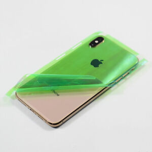 Full Covered Frame Back Housing Soft Protector Film For iPhone XS Max XS XR Lot