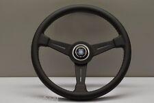 NARDI ND CLASSIC 390MM LeatherBlack Spoke Steering Wheel - 6061.39.2001 IN STOCK