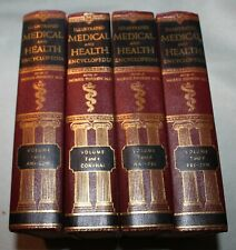 Illustrated Medical & Health Encyclopedia 4 Volumes, complete  c1966 VG