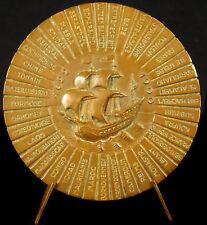 Médaille Troupes coloniales la coloniale liste interventions colonies 1950 medal