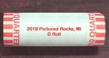 2018 PICTURED ROCKS NATIONAL LAKESHORE, MI  D MINT ROLL - H/T **IN STOCK **
