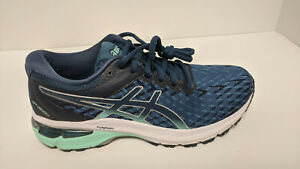 Asics GT-2000 8 Knit Running Shoes, Blue, Women's 7 M