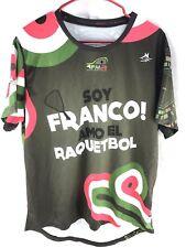 Cerardo Franco Mexican Racquetball Jersey Men's Xl Short Sleeve Shirt Mexico Fmr