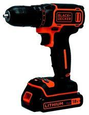 Black & Decker BDCDC18-GB Lithium-Ion Cordless Drill Driver 18V - FREE P&P