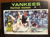 1971 Topps Thurman Munson All-Star Rookie #5 New York Yankees Sharp Corners (MC)