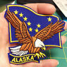 Embroidered Alaska Patch - Alaska Flag and Bald Eagle - New In package - Iron on