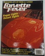 Corvette Fever Magazine Vegas Lights Desert Sights May 1989 050215R
