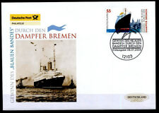 "Dampfer ""Bremen"". FDC. Berlin. BRD 2004"