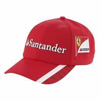F1 Scuderia FERRARI Puma MENS Team Baseball CAP Hat Vettel – New OFFICIAL