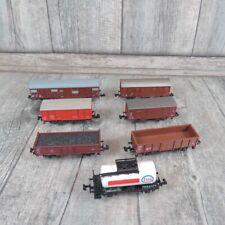 TRIX/ROCO - SPUR N - 7 teiliges Güterwagenkonvolut - #G29773