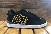 DC Shoes Net - Black/Gold - Men's Skateboard Sneakers - 302361
