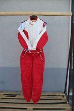 Tuta Sparco sponsor 54 rossa bianca omologata nuova