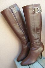 Cole Haan Womens Boots Knee High Fashion Tall Soft Mocha Brown Leather Size 10B