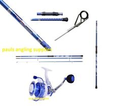 Shakespeare Agility 12 ft 9 inch Beach Beachcaster Fishing Rod & Sw 60 Reel