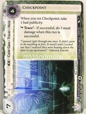Android Netrunner LCG - 1x Checkpoint #017 - System Crash Corporation Draft Pack