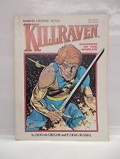 Killraven Marvel Science Fiction Graphic Novel Comic Book P. Craig Russell Art