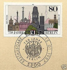 BRD 1987: Berlin 750 Jahre! Nr 1306 mit Bonner Ersttagssonderstempel! 1A! 153