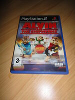 PS2 GAME: ALVIN AND THE CHIPMUNKS