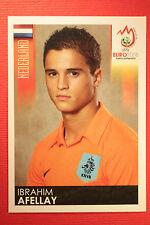 Panini EURO 2008 N. 267 AFELLAY NEDERLAND NEW With BLACK BACK TOPMINT !!