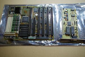 386DX  ISA Opti  motherboard mainboard pack 4MB ram REALTEK VGA