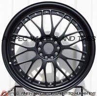 XXR 521 20X8.5 Rims 5x114.3/120 +32 Black Wheels (Set of 4)