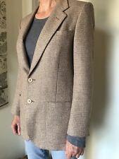 Pierre Cardin Women's Wool Blazer, size unmarked about a W-10. Tweed Wool, lined