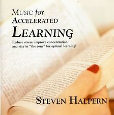Steven Halpern - Music for Accelerated Learning [New CD]
