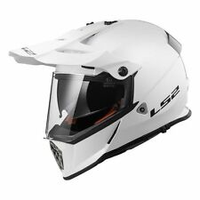 Ls2 Casque Moto Off-road Mx436 Pioneer Solid Blanc XXS
