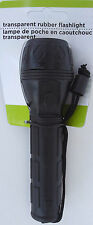 """WATER RESISTANT FLASHLIGHT Soft Rubber Grip with Wrist Cord 6""""  - LAST ONE"""