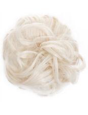 Koko Premium Chouchou cheveux blond délavé #60 LGE ondulées pour chignon ou