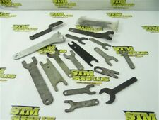 """New listing Lot Of 17 Assorted Arbor Nut & Hub Spanner Wrenches 5/16"""" To 1-1/2"""""""