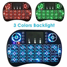 2.4G Backlight Wireless Touchpad Keyboard Air Mouse For PC Pad Android TV Box