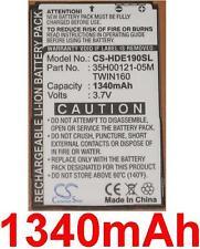 Batterie 1340mAh type 35H00121-05M BA S380 TWIN160 Pour HTC A6266
