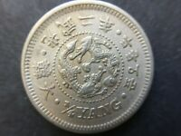 KOREA 1898 ( Year 2) 1/4 Yang Coin  < Full details > 大韓 光武二年
