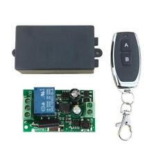 Wireless Remote Control Switch DC12V 1CH Relay Receiver Module+ RF Transmitter