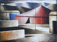 Marcello Scuffi Serigrafia su tela Cm 60 x 80