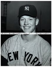 "Mickey Mantle, New York Yankees, Rookie Photograph Large REPRINT 11""x14"""