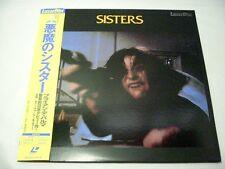 SISTERS Laserdisc Brian De Palma w/Obi LD Japan