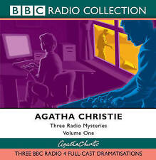 "Agatha Christie "" THREE RADIO MYSTERIES"" (Audiobook CD's)"