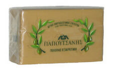 4 Pack, Pure Traditional Olive Oil Soap - Papoutsanis  - 125 gr bar
