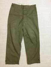 US Army WW2 Trousers  M1943 m43 Norwegian made large