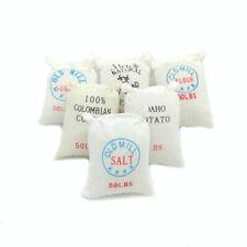 Dollhouse Flour Sacks 6Pcs Set Miniature Decoration Flour Bag