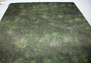 neoprene gaming mat +bag MEADOW  3x3 ft  RPG D&D Warhammer gridless