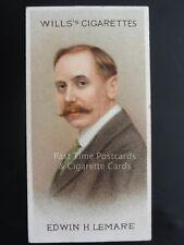 Single: No.47 - EDWIN H. LEMARE - MUSICAL CELEBRITIES 1st Series' Wills 1912