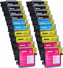 20 PK INK NON-OEM LC-61 LC65 FOR BROTHER MFC-290CMFC-490CW MFC-5490CN MFC-J615W